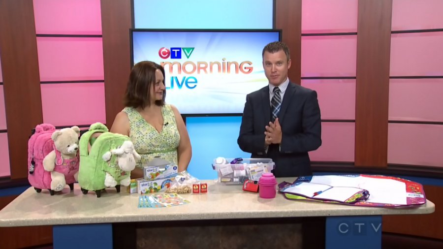 CTV Morning Live: Double Segment Travel with Kids