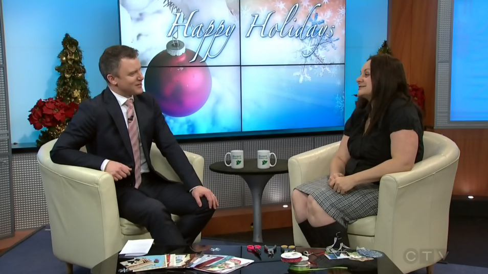 Holiday financial CTV